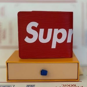 Other - Supreme Louis Vuitton Wallet